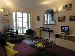 Appartement à Paris pour  2 •   animaux acceptés (chien, chat...)