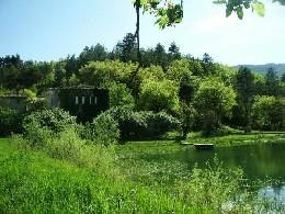 Luc-en-diois -    uitzicht op meer