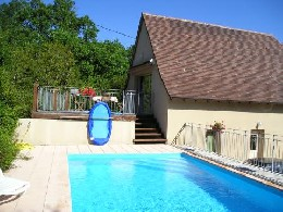 House Loubressac - 8 people - holiday home  #21794
