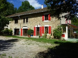 Gite 8 personnes La Chapelle En Vercors (gîte Fleur) - location vacances  n°21889